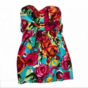 Bright Floral Dress Arden B size Small